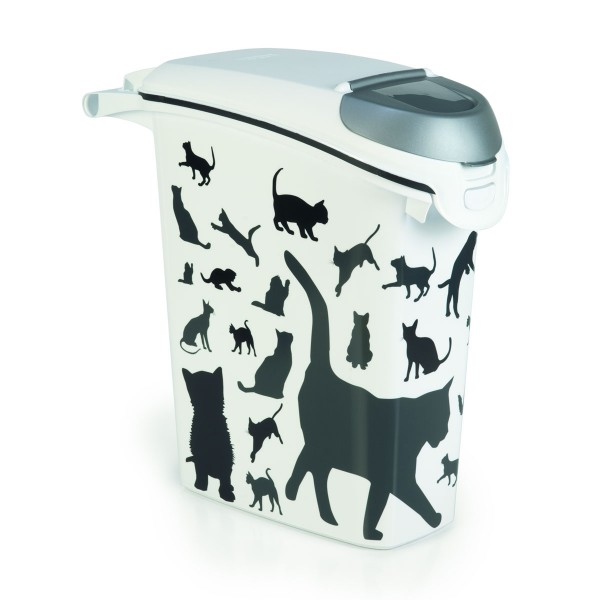 Curver Futtercontainer Silhouette Katze