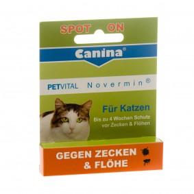 Canina PETVITAL Novermin pro kočky, 2 ml