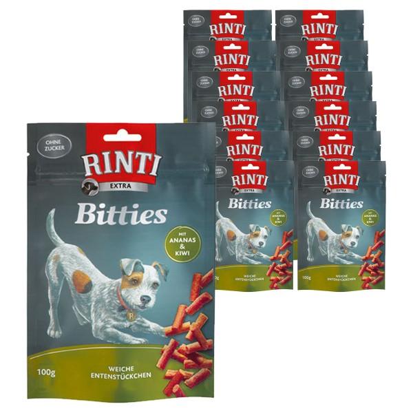 Rinti Extra Hundesnack Bitties Ananas+Kiwi 12x100g