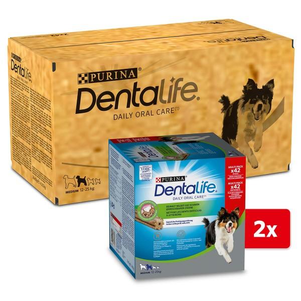 PURINA DENTALIFE Tägliche Zahnpflege-Snacks für mittelgroße Hunde