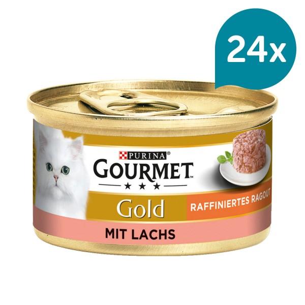 Gourmet Gold Raffiniertes Ragout Lachs