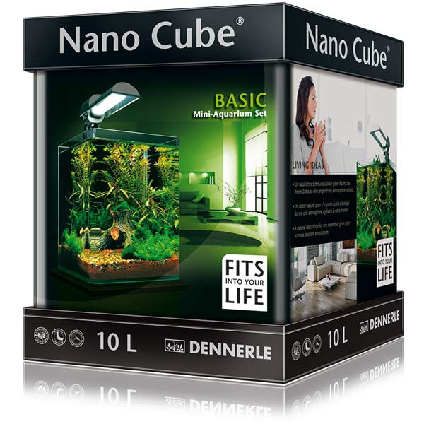 DENNERLE NanoCube Basic 10l Aquarium