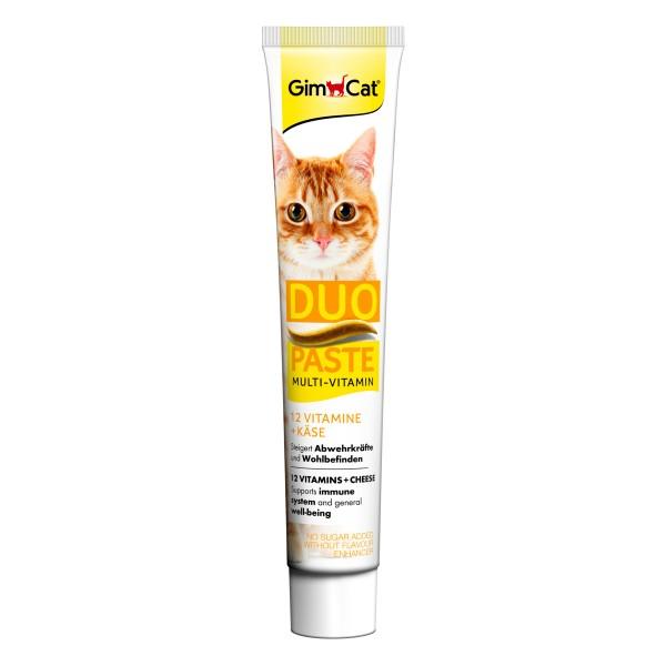 GimCat MultiVitamin DuoPaste Käse + 12 Vitamine 50g