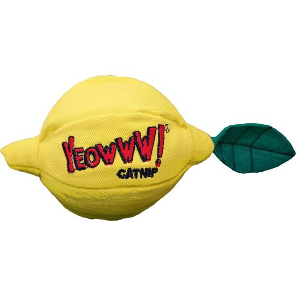 Yeowww! Katzenspielzeug Zitrone mit Katzenminze