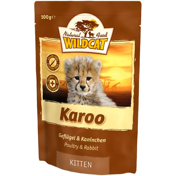 Wildcat Karoo Kitten Geflügel&Kaninchen