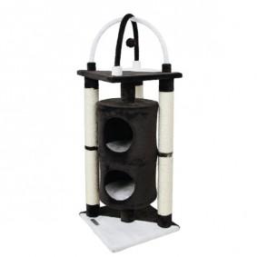Kerbl Kratzbaum ONYX schwarz/weiß38x38x107cm