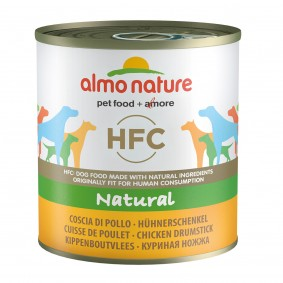 Almo Nature HFC Natural Dog s kuřecími stehny