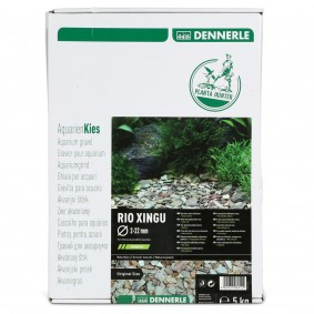Dennerle přírodní štěrk Plantahunter Rio Xingu MIX 2–22 mm 5 kg