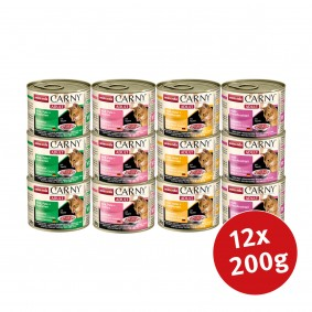 Animonda Carny Adult Mixpaket 12x200g
