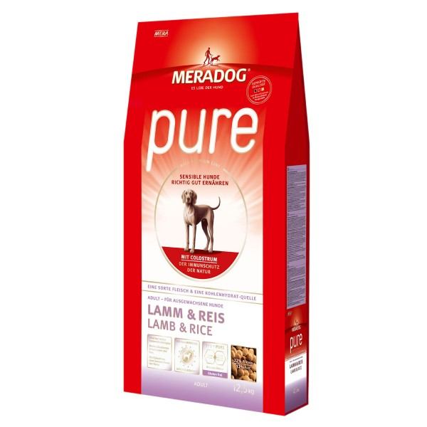 Mera Dog pure Lamm und Reis