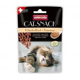 Animonda Cat Snack kuřecí maso a lněné semínko