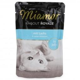 Miamor Katzenfutter Ragout Royale in Jelly Lachs