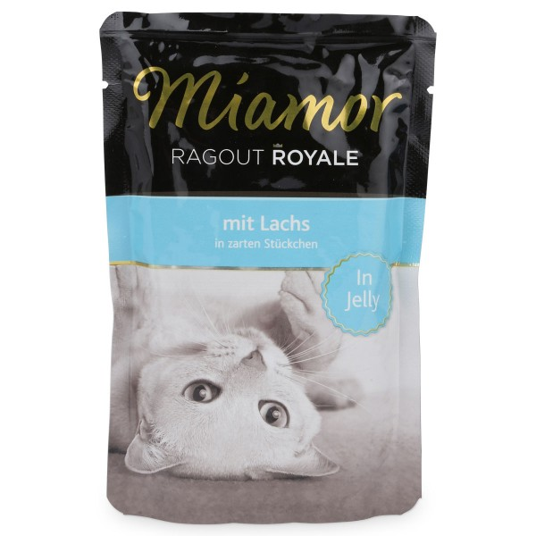 Miamor Ragout Royale in Jelly Lachs
