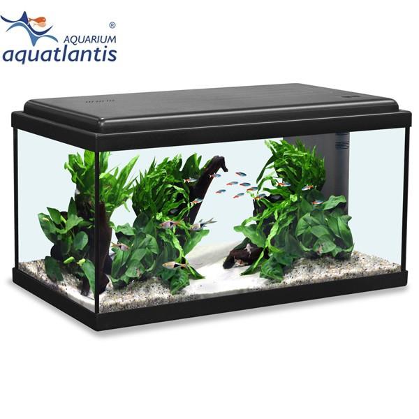 Aquatlantis Aquarium Advance LED 60 - Schwarz