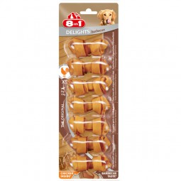 8in1 Hundesnack Delights BBQ