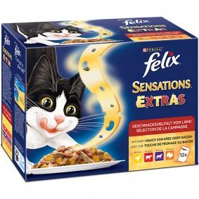 Felix Sensations Extras Geschmacksvielfalt vom Land Multipack