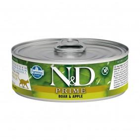 N&D Cat Prime Wildschwein & Apfel