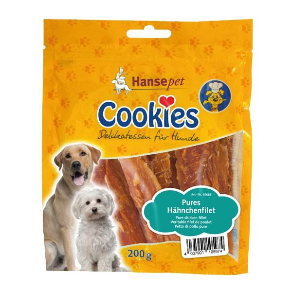 Hansepet Hundesnack Cookies Delikatess-Hähnchenfilet 200 g