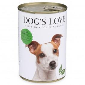 Dog's Love Futter Classic Wild mit Kartoffel, Zwetschge & Sellerie