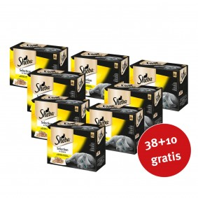 Sheba Katzenfutter Selection in Sauce Geflügel Variation Multipack