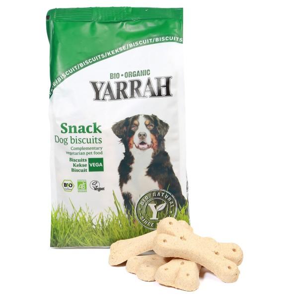 Yarrah Hundesnack Bio Vegetarische Kekse 500g