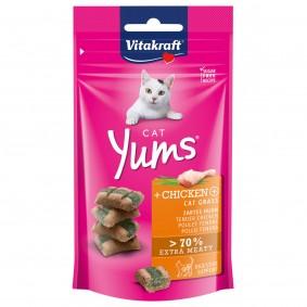 Vitakraft Cat Yums kuřecí maso akočičí tráva