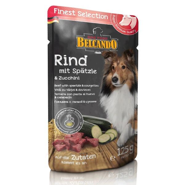 Belcando Finest Selection Rind mit Spätzle & Zucchini