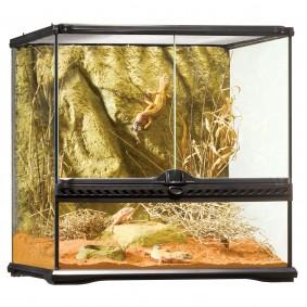 Exo Terra skleněné terárium 45 × 45 × 45 cm