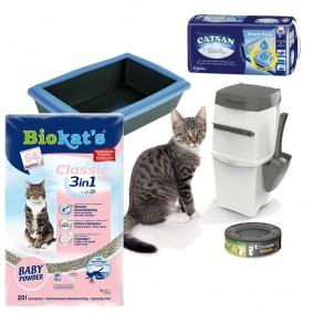 Katzentoilette Starterset Kitten
