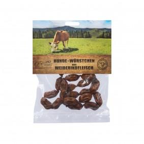 O´Canis Premium Hunde-Würstchen 100% Rindfleisch