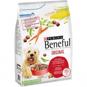 PURINA BENEFUL Original Hundetrockenfutter mit Rind & Gartengemüse