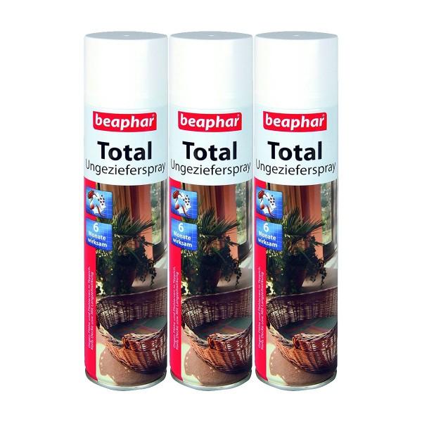 beaphar Total Ungezieferspray 3x400ml