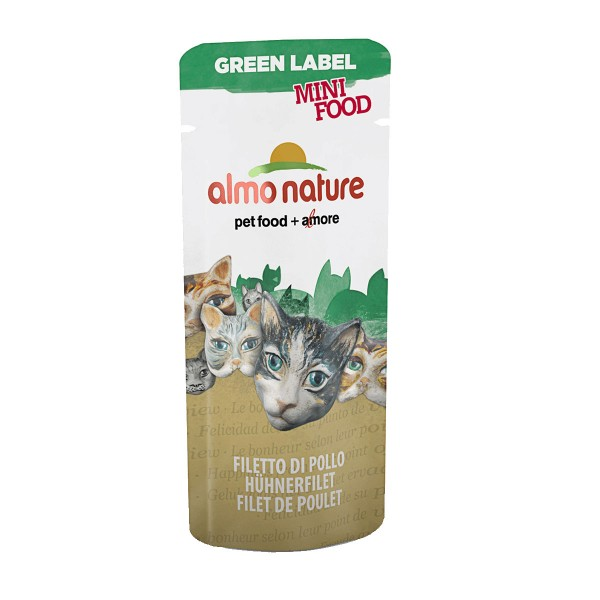 Almo Nature Katzenfutter Green Label Mini Food Wet 3g