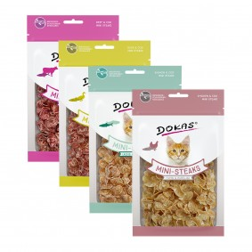 Dokas Mini-Steaks Mixpaket 4x40g