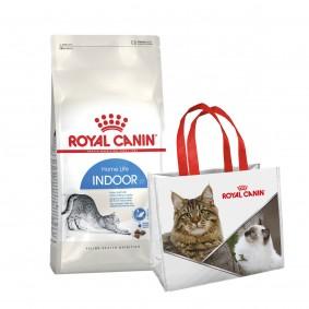 Royal Canin Feline Health Nutrition Indoor 400g + Einkaufstasche