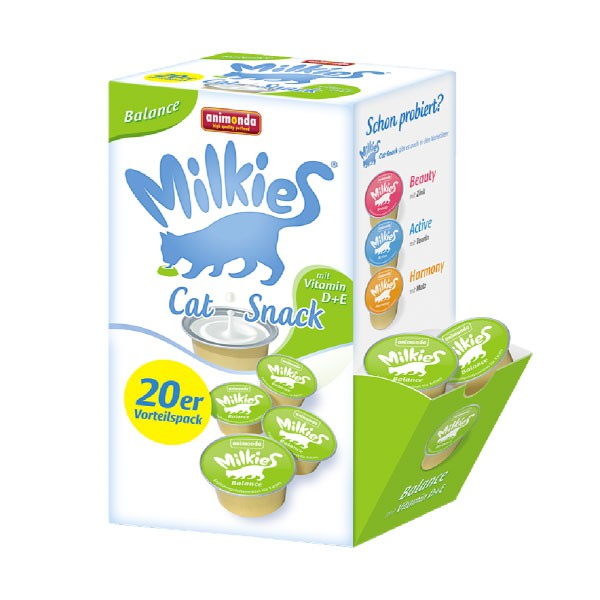 Animonda Katzensnack Milkies Schleck-Snack Balance 20x15g