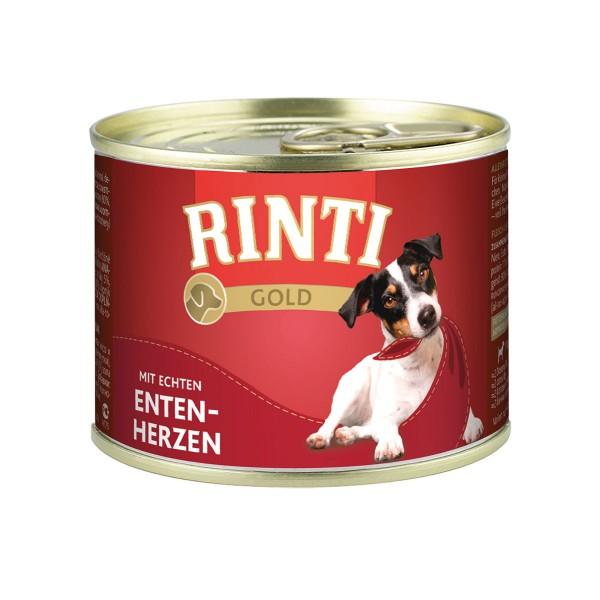 Rinti Gold mit Entenherzen 24x185g