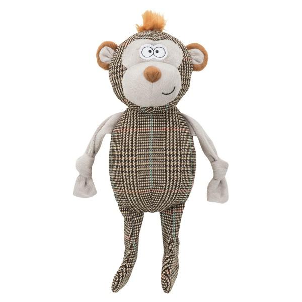 Trixie Hundespielzeug Affe mit Stimme 32 cm