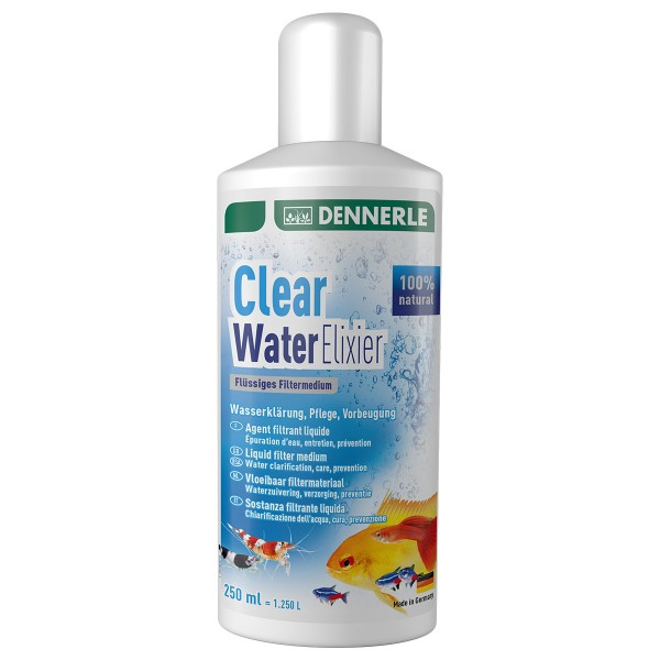 Dennerle flüssiges Filtermaterial Clear Water Elixier