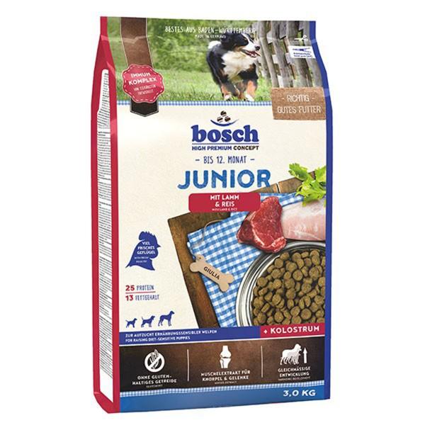 Bosch Hundefutter Junior Lamm & Reis - 3kg