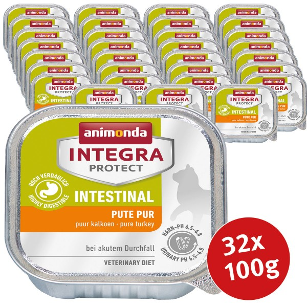 Animonda Katzenfutter Integra Protect Intestinal 32x100g