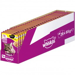Whiskas Adult 1+ Ragout mit Huhn in Gelee