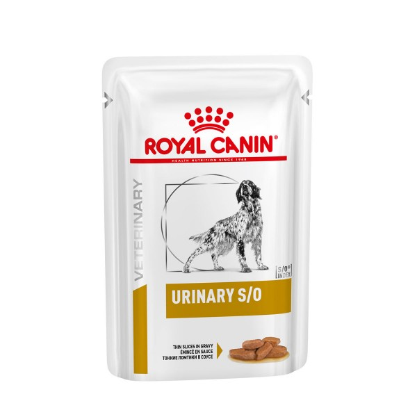 Royal Canin Vet Diet Nassfutter Urinary S/O Hund - Häppchen in Soße