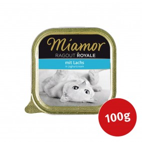 Miamor Katzenfutter Ragout Royale Lachs in Joghurtcream