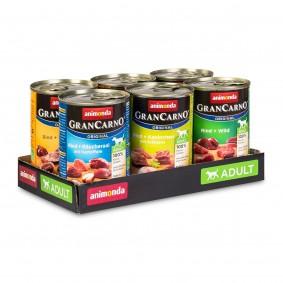 Animonda GranCarno Mixpaket 2, 6 x 400 g
