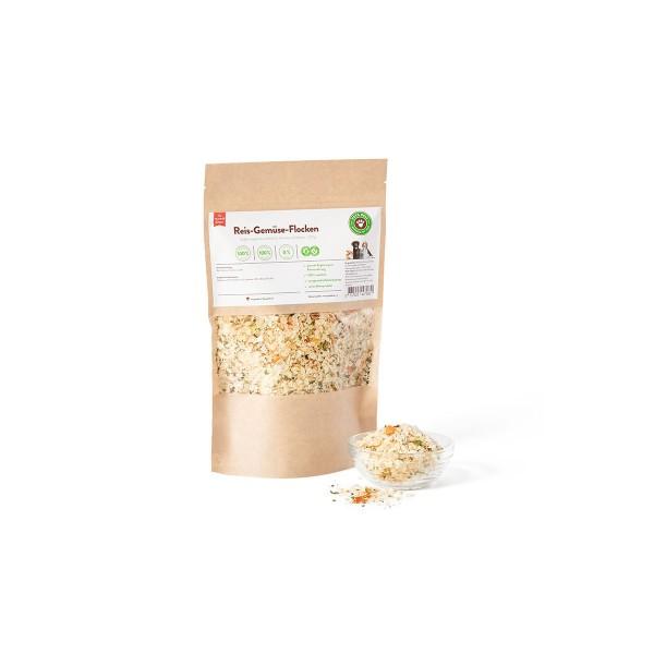 Pets Deli Ergänzungsfutter Reis Gemüse Flocken 250g