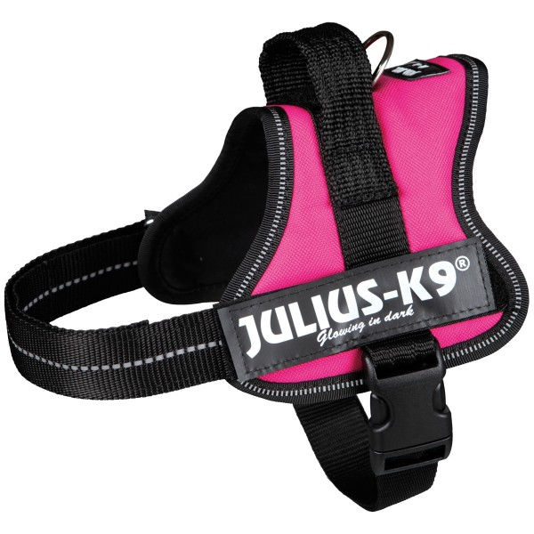 Julius-K9 Powergeschirr fuchsia