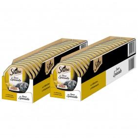 Mars Sheba Katzenfutter Sauce Speciale Hühnchen in Kräutersauce 44x85g Sale Angebote Haidemühl
