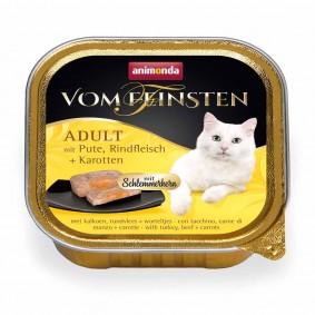 Animonda Vom Feinsten Adult Schlemmerkern mit Pute, Rindfleisch + Karotten