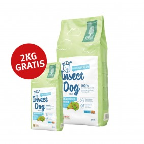 Green Petfood InsectDog hypoallergen 15kg plus 2kg